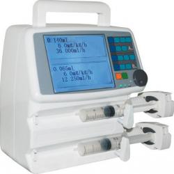 Dual Channel Syringe Pump DCSP-1000E