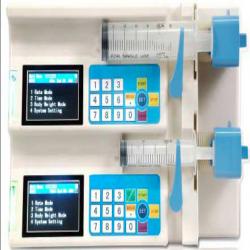 Dual Channel Syringe Pump DCSP-1000F