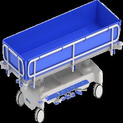 Hydraulic Shower Bed HSBM-1000A